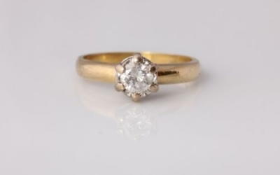 0.40ct Diamond Engagement Ring