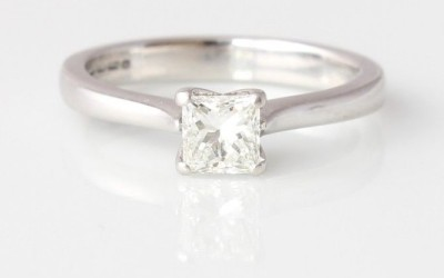0.41ct Certified Diamond Ring