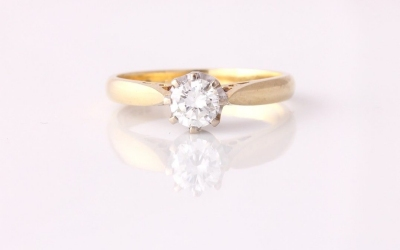 0.50ct Solitaire Ring