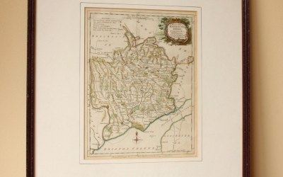 1765 Monmouthshire Map