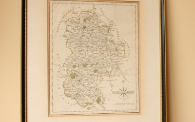 1793 Bedfordshire Map