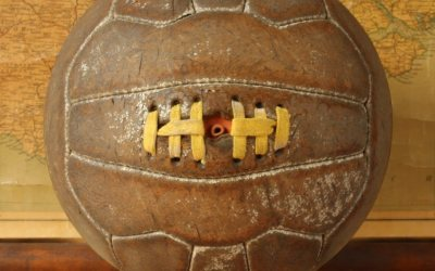 18 Panel Brown Football