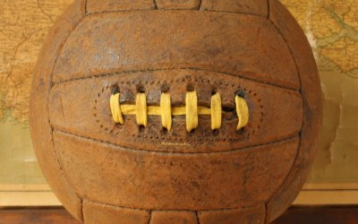 1940 Laced Leather Football