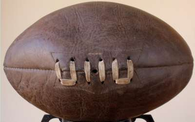 1950 Brown Rugby Ball