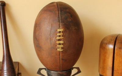 1950s Rugby Ball