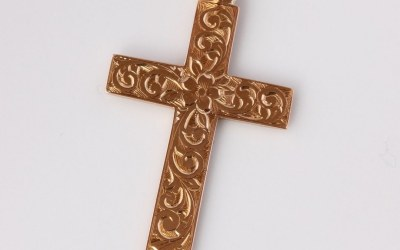 Antique 15ct Cross