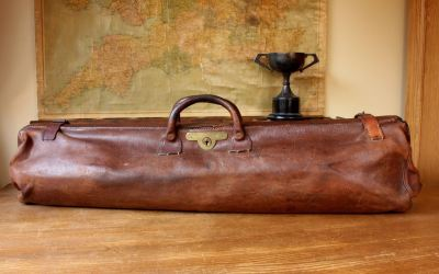 Brown Cricket Bag