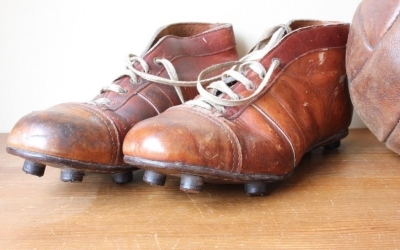 Brown International Football Boots