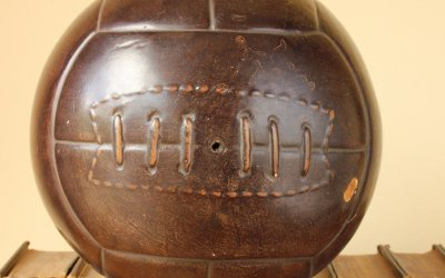 Ceramic Football Ornament