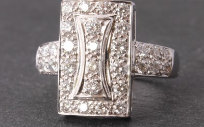 Chatila Diamond Dress Ring