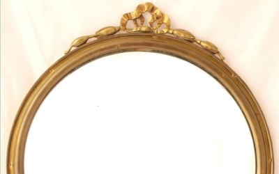 Convex Ribbon Mirror