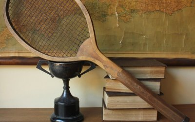 Convex Wedge Tennis Racket