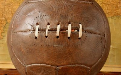 Dark Brown Football