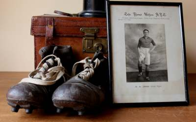 Football Boots And Picture