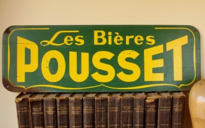 French Beer Sign