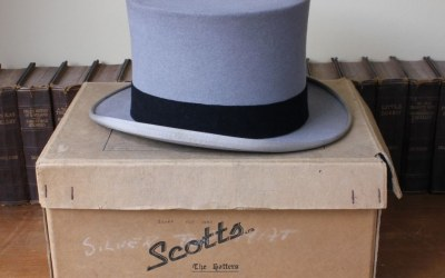 Grey Scott Top Hat