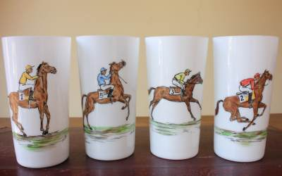 Horse Drinking Glasses