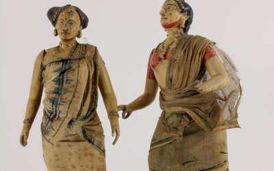 Indian Dancer Figures