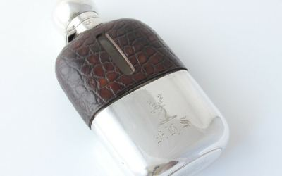 James Dixon Stag Flask