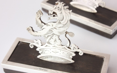 Lion Menu Holders
