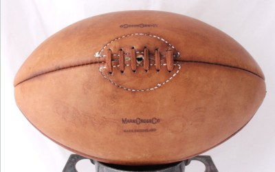 Mark Cross Rugby Ball