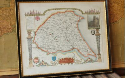 Moule Yorkshire Map