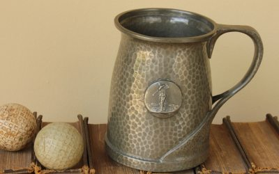 Pewter Golf Tankard