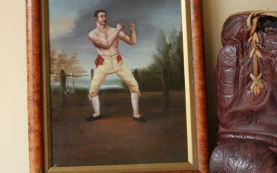 Pugilist Oil Painting