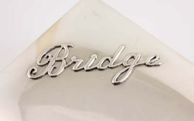 Silver Bridge Card Box