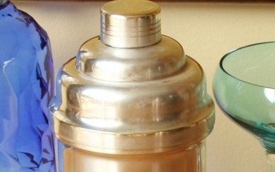 Silver Plated Shaker