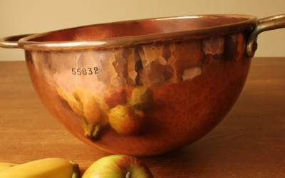 Small Copper Choc Bowl