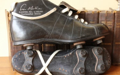 Stan Mortensen Football Boots