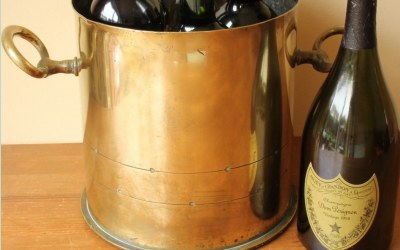 WW1 Brass Wine Bucket